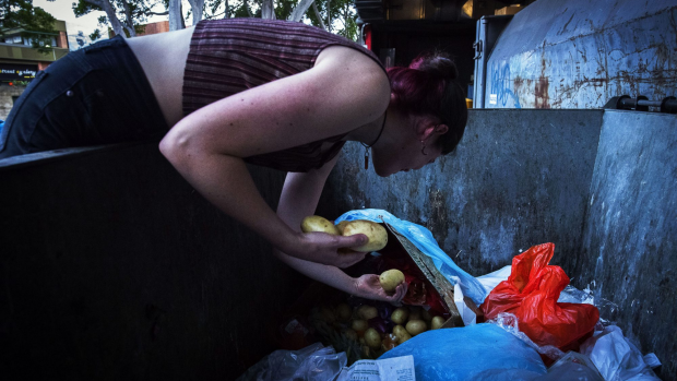 Article image for 'Dumpster diving' on the rise due to massive food wastage in Melbourne