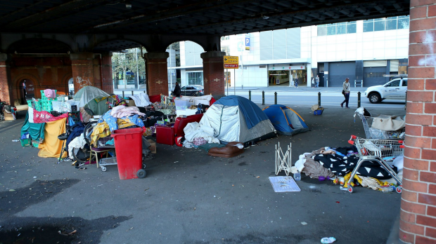 Article image for Lord Mayor set to shutdown homeless camps along Melbourne city streets