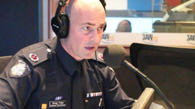 Article image for Assistant Commissioner Doug Fryer 'disturbed' by road safety blitz results