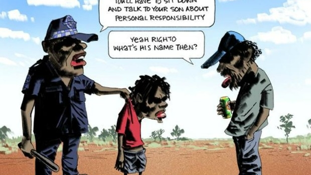 Article image for Freedom of speech debate reignited as controversial Bill Leak cartoon draws attention of Human Rights Commission