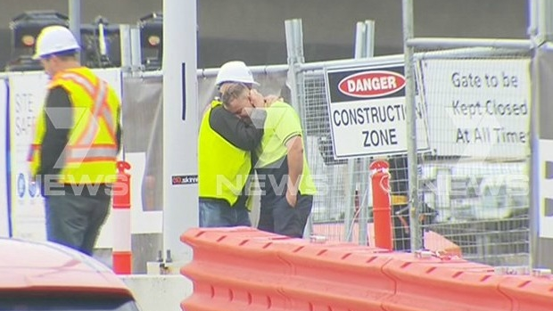 Article image for Man killed at South Wharf construction site