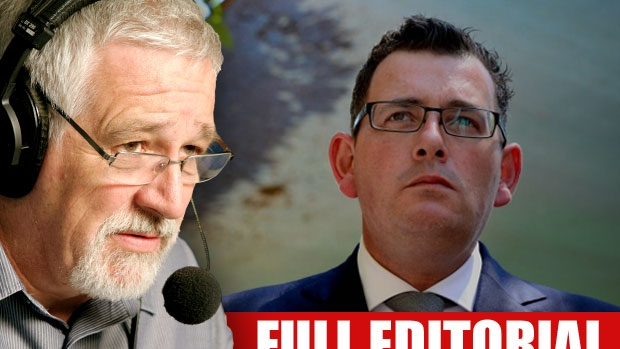 Article image for EDITORIAL: Neil Mitchell slams Daniel Andrews for putting politics ahead of sick cancer patients