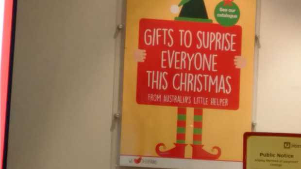 Article image for A surprising blunder: Australia Post's advertising material's glaring mistake