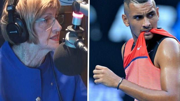 Article image for Margaret Court's warning for Nick Kyrgios
