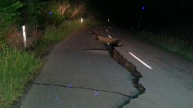 Article image for Massive earthquake rocks New Zealand