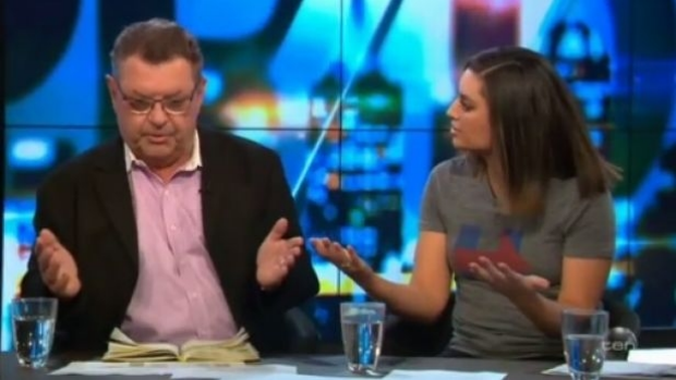 Article image for Neil Mitchell dismisses 'bullying' suggestion surrounding clash between Steve Price and Jamila Rizvi on The Project