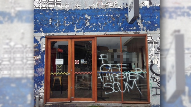 Article image for RUMOUR FILE: Footscray burger chain vandalised