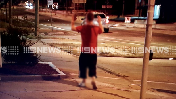 Article image for Man surrenders to police following Bendigo petrol station robbery