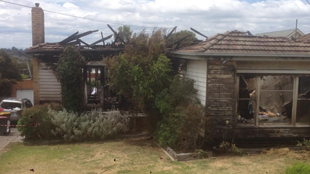 Article image for RUMOUR FILE: House destroyed by fire after wind blows ember into neighbours home