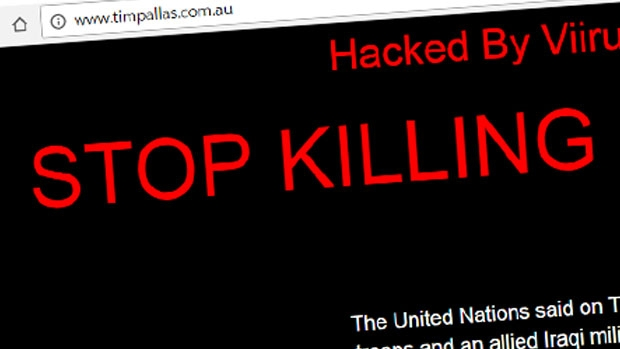 Article image for Website of Victorian treasurer Tim Pallas hacked by Tunisian Islamists
