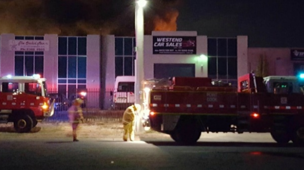 Article image for Jumping castle business damaged in Hoppers Crossing fire