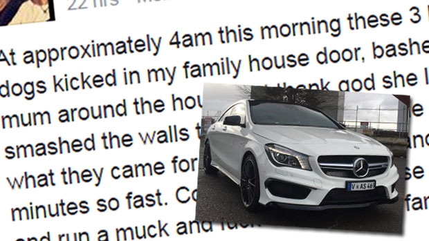 Article image for 3AW Mornings hears details of terrifying home invasion at Port Melbourne