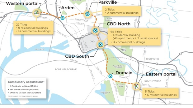 Article image for Franklin and A'Beckett streets to be closed for five years as work begins on Melbourne Metro Rail