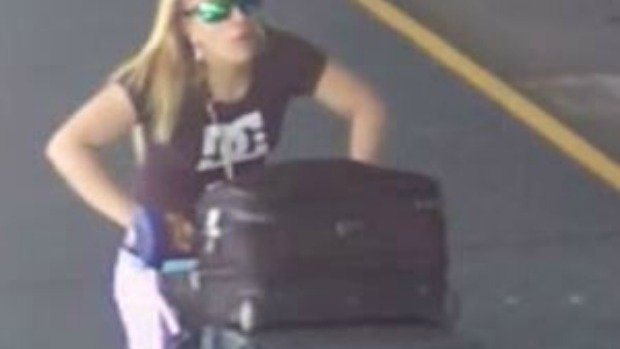 Article image for Police probe bag raider's unusual airport activity