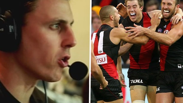 Article image for Matthew Lloyd says Cale Hooker is a 'smokey' of becoming Essendon captain