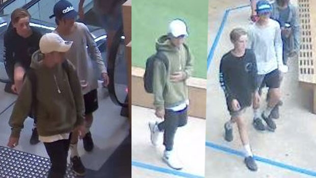 Article image for Police release images of boys wanted over Highpoint robbery