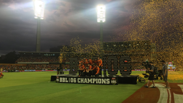 Article image for BLOG: KFC BBL06: Perth Scorchers v Sydney Sixers at The Furnace (Grand Final)