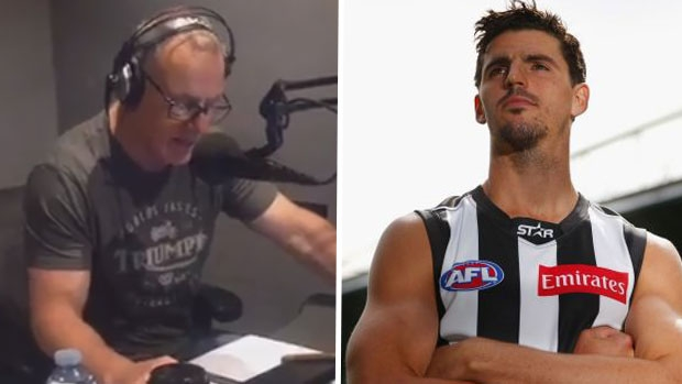 Article image for Dwayne Russell says AFL players would become 'worldwide laughing stock' if they sit down in protest