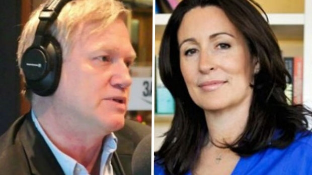 Article image for Andrew Bolt threatens to hang up on Miranda Devine during heated clash on 3AW Nights