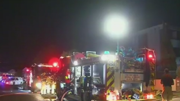 Article image for Family of six flees Ascot Vale fire