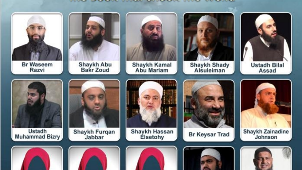 Article image for Islamic Conference under fire for a flyer which doesn't show female speakers