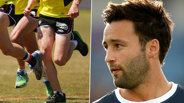 Article image for Jimmy Bartel spotted at St Kilda training (nothing to fear, Geelong fans)