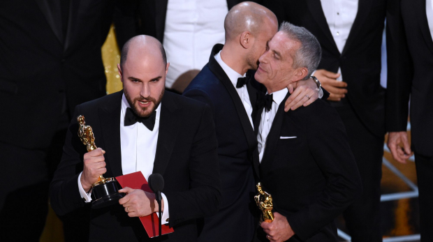 Article image for 'MOONLIGHT' emerges as best film from historic Oscar trainwreck