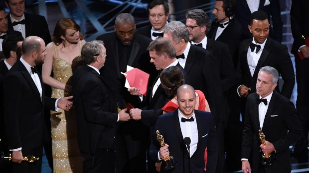 Article image for Accounting firm Pricewaterhouse Cooper take responsibility for Oscars blunder.