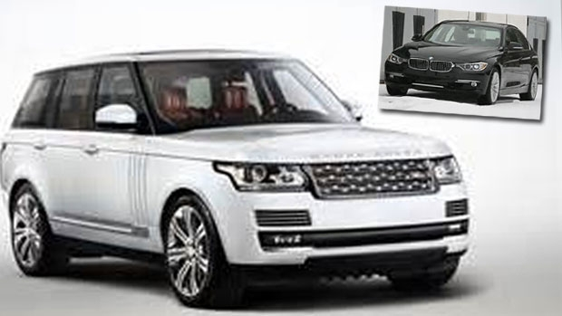 Article image for Black BMW and white Range Rover stolen during Toorak home invasion