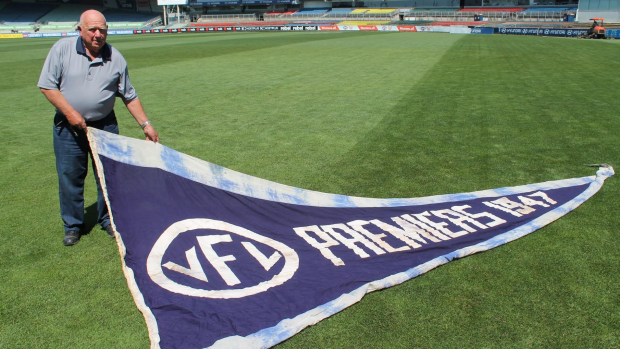 Article image for RUMOUR CONFIRMED: 1947 premiership flag returned to Carlton