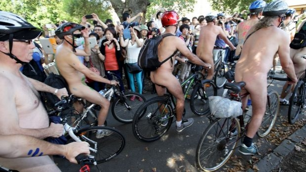 Article image for Organisers of annual Naked Bike Ride expect biggest turnout yet