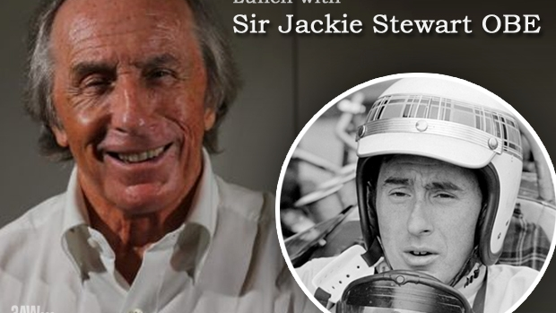 Article image for Lunch with Sir Jackie Stewart OBE