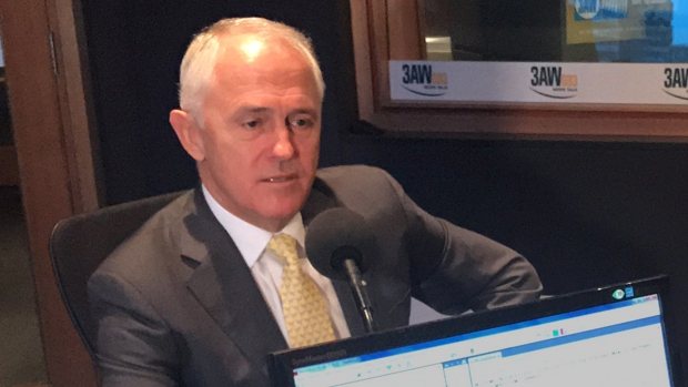 Article image for Prime Minister Malcolm Turnbull in the studio with Neil Mitchell