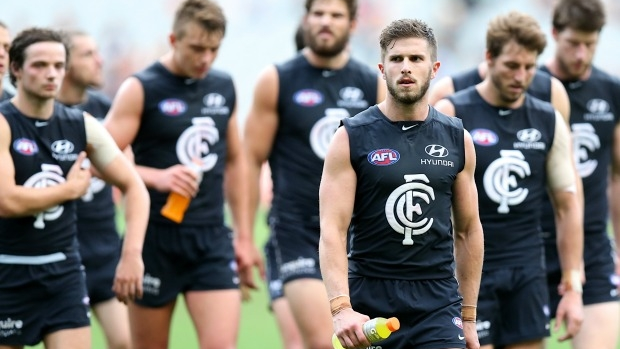 Article image for Tony Shaw says Carlton's midfield is full of 'downhill skiers'
