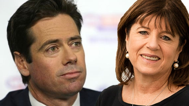 Article image for Caroline Wilson savages Gillon McLachlan over Grand Final scheduling