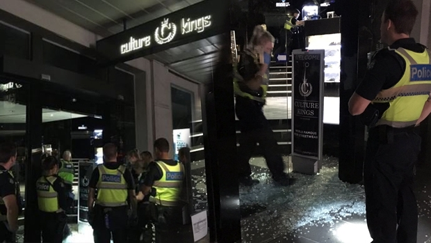 Article image for Culture Kings clothing store in the CBD robbed overnight