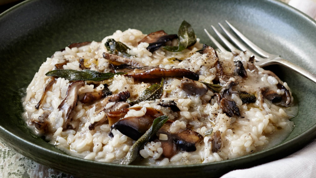 Article image for RECIPE: Tobie Puttock's risotto of Porcini Mushrooms, Sage and Pancetta
