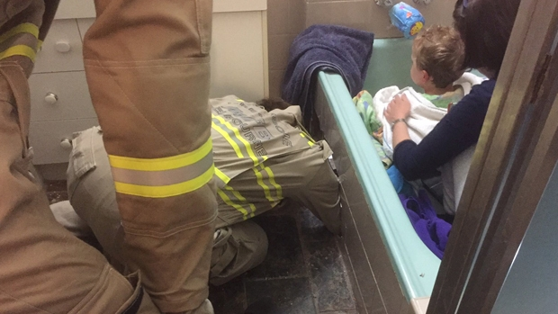 Article image for MFB crews rescue boy trapped in bath for five hours