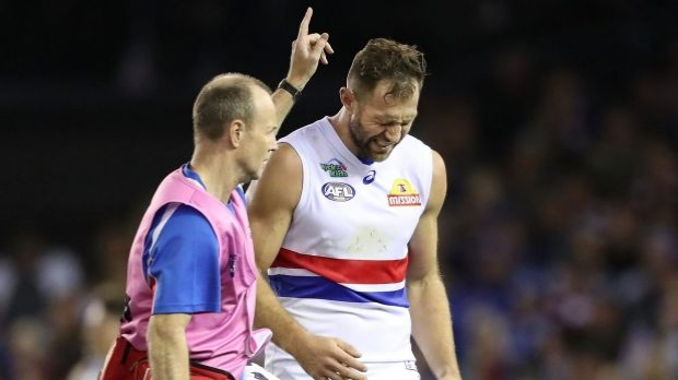 Article image for Dr Peter Larkins with some bad news on Travis Cloke after Jack Ziebell bump