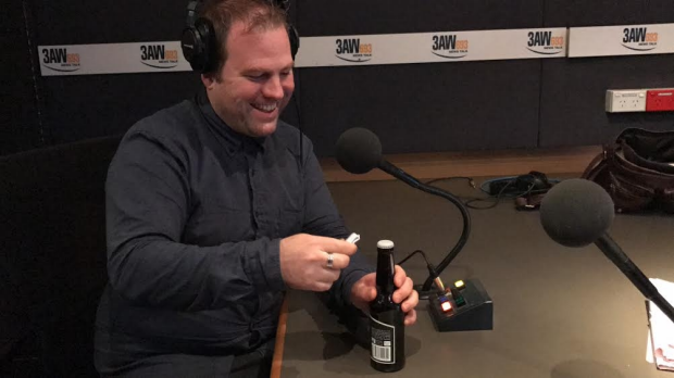 Article image for 'Scorcher' tries opening a bottle of beer with a piece of paper