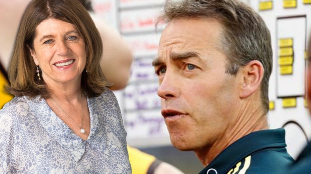 Article image for Caroline Wilson says she'd be 'amazed' if Alastair Clarkson left Hawthorn for another club