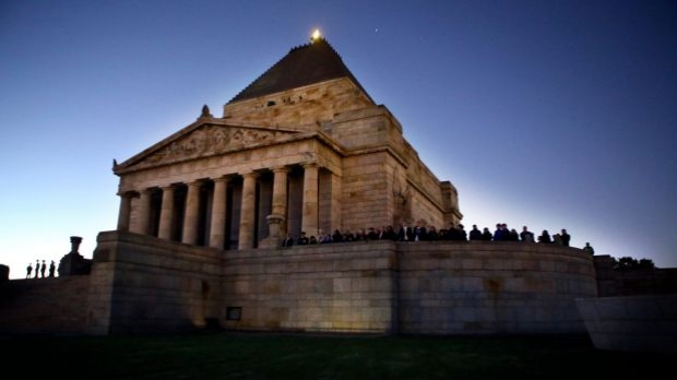 Article image for YOUR TOWN: 3AW Drive visits the Shrine of Remembrance in the lead up to Anzac Day