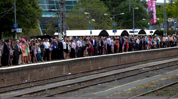 Article image for Train drivers strike over Melb Cup Carnival week could leave racegoers stranded