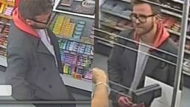 Article image for Police on the hunt for man accused of stealing handbag on Brunswick Street