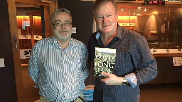 Article image for 'The Battle of Long Tan' author David Cameron with Denis Walter