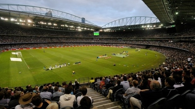 Article image for AFL boss Gillon McLachlan says there's a 'chance' the league could own Etihad Stadium by end of 2016