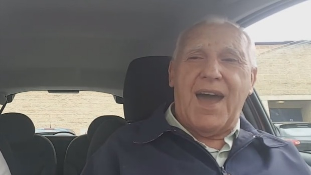 Article image for 3AW Mornings takes a look at viral video of man with dementia singing in car