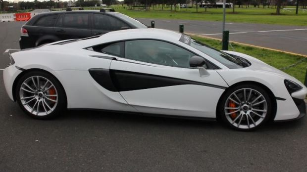 Article image for 360 Camera: Jump in the passenger seat as Neil Mitchell drives the new McLaren
