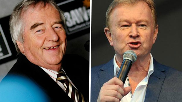 Article image for Denis Walter sends emotional message to Ernie Sigley following Alzheimer's announcement