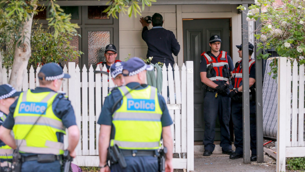 Article image for Collingwood squatters remain in at least four properties